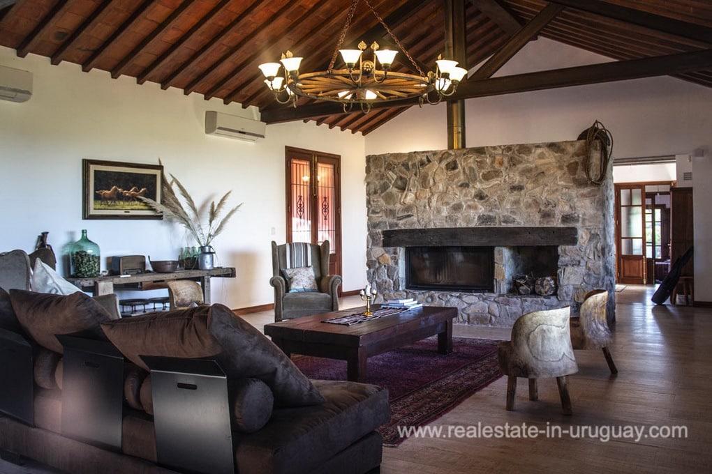 Living Room of Amazing Country Property between Pueblo Eden and Minas