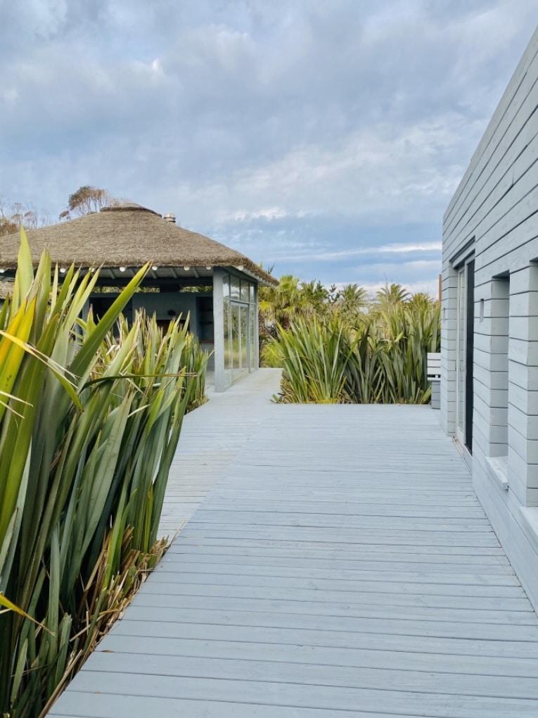 Walkway of Mario Connio House on the Lagoon near Jose Ignacio