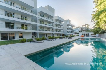 Pool of Top Quality Penthouse near the Brava Beach in Punta del Este