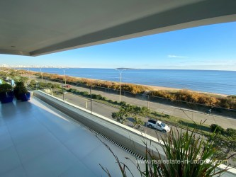 View to the East from Penthouse with Sunset Views in Punta del Este