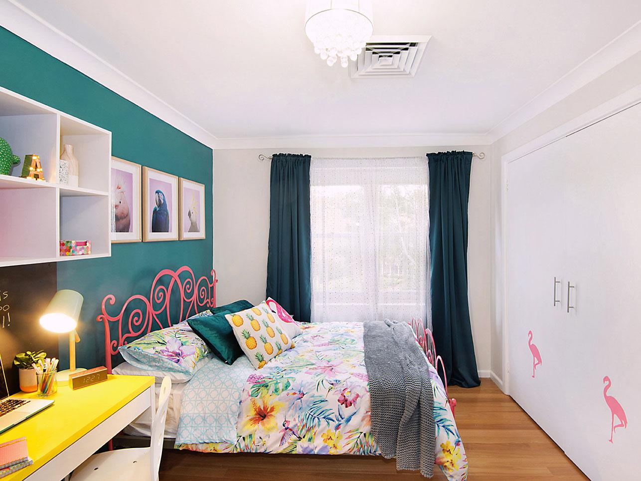 Girls Bedroom Decorating Ideas From Australia S Renovating Queen