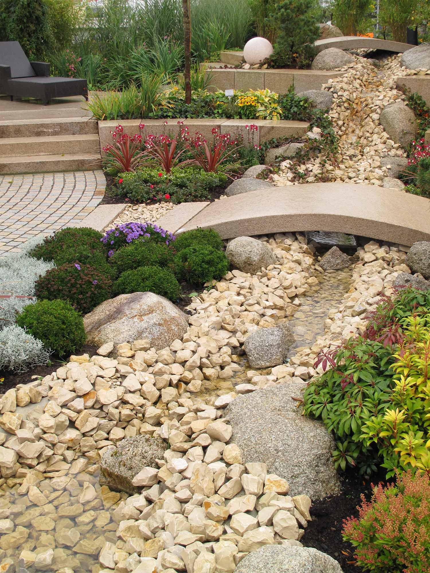 Pebble Garden Ideas - realestate.com.au on Backyard Pebble Ideas id=91092