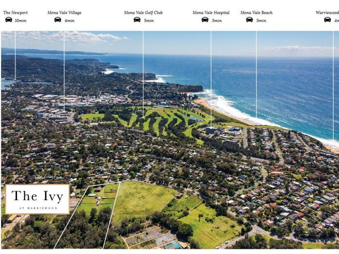 Warriewood health hub The Ivy brochure. NSW real e