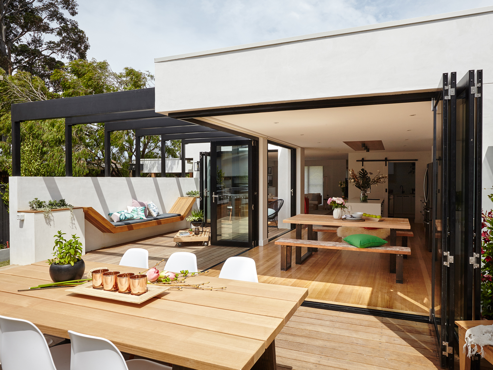 Cool Courtyard Ideas for Your Outdoor Area - realestate.com.au on Small Backyard Entertainment Area Ideas id=58803