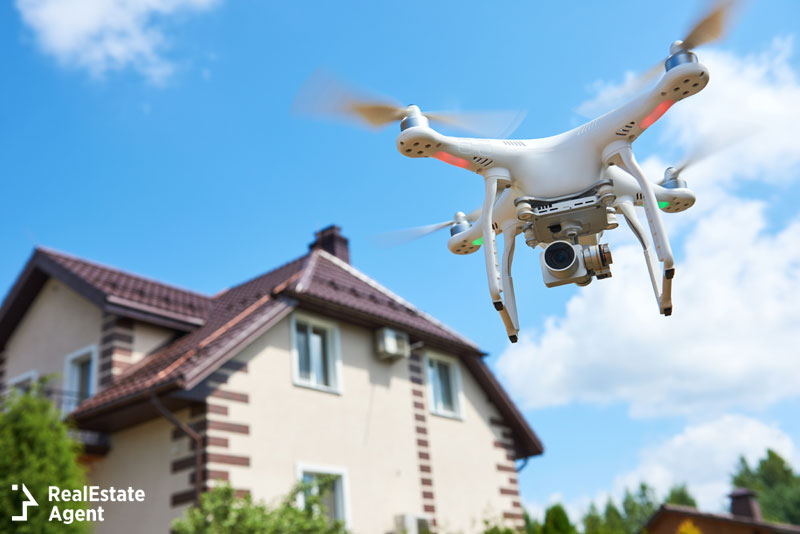 real estate marketing ideas drone