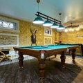 basement remodels pool table
