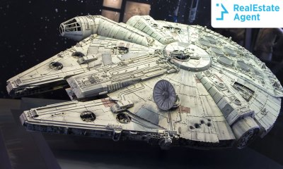 The Millennium Falcon as a mobile home from star wars