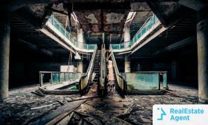Rolling Acres Mall Akron Ohio Ghost Town derelict building