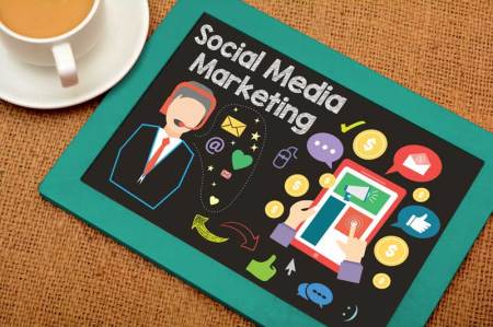 social media graphic illustration