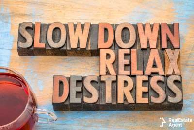 slow down relax de-stress