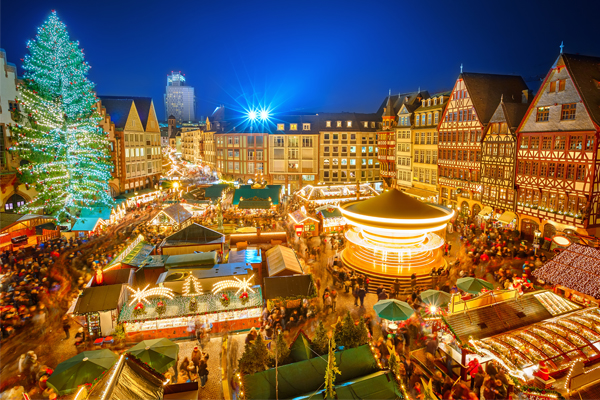 Christmas market in Germany