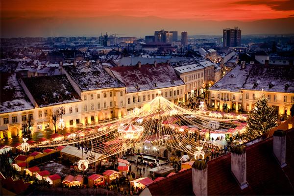 Romanian Christmas Market