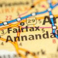 fairfax va map