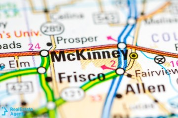 mckinney texas us map