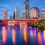 tampa florida downtown skyline usa