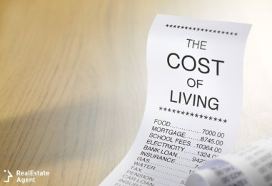 the cost of living shopping list