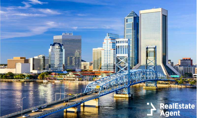 jacksonville florida usa downtown city