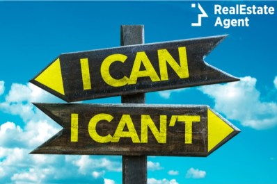 sign post with i can and i can't