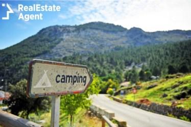 road campsite near grazalema