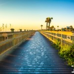 palm coast boardwalk beach