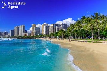 Hawaiian skyline