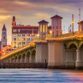 river view of Saint Augustine FLorida