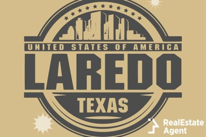 stamp with text loredo texas
