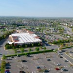 aerial view of ryan park ashburn virginia