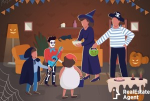 halloween celebration vector illustration