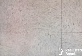 closeup of tiled linoleum