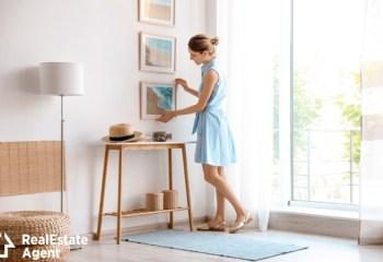 female interior design decoration