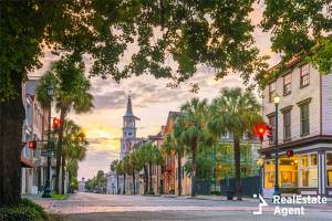 historical downtown of charleston