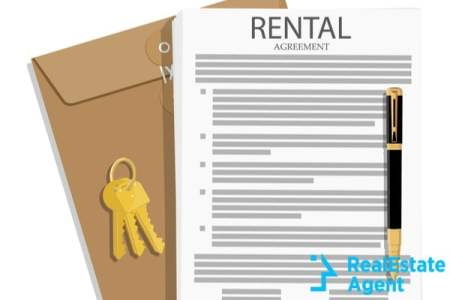 rental agreement concept pen and doc file