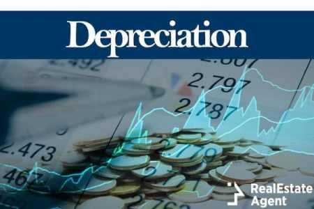 depreciation digital information concept