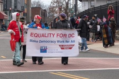 Equality for DC petition