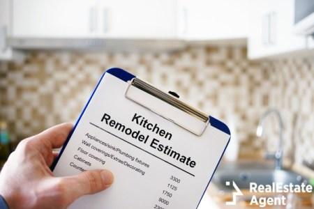 Kitchen remodel estimate cost of renovation
