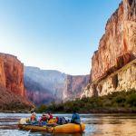 Rafting on Colorado River