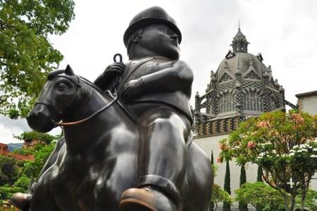 medellin colombia sculpture