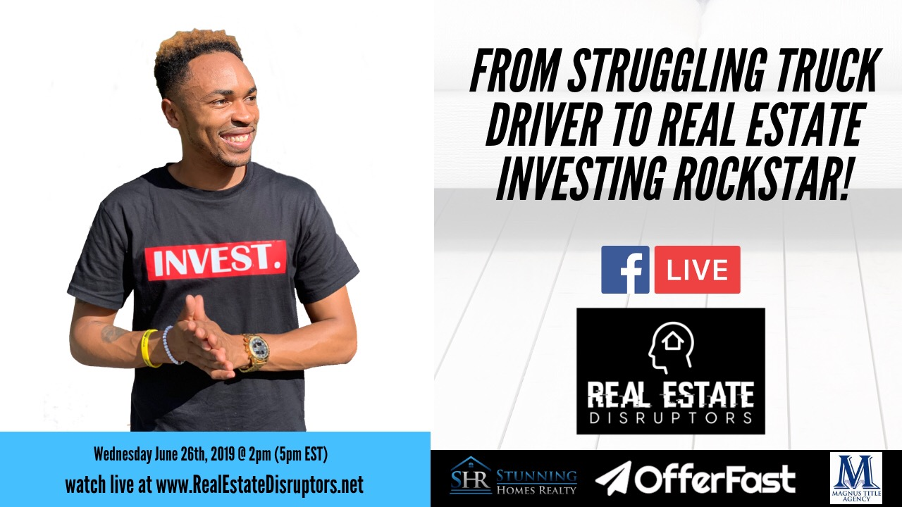 Antonio Edwards Shares How He Went From Struggling Truck Driver To Real Estate Investing Rockstar