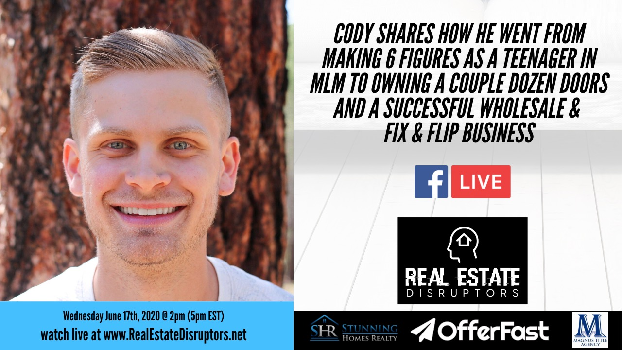 Cody Barton Shares How He Went From Early Success to Struggling Realtor to Owning Dozens of Rentals