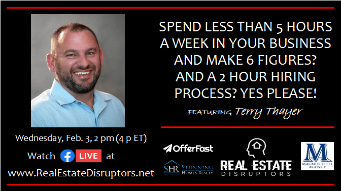 $100,000+ per Month Working 5 Hours per Week. Terry Thayer Shares How He Went From Contractor to Building a Real Estate Empire.