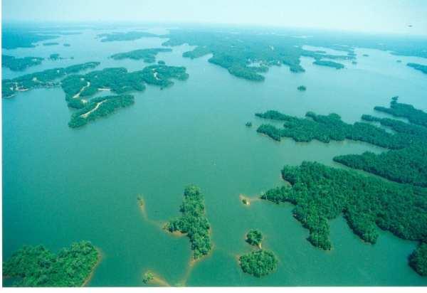 Lake Martin Aerial View