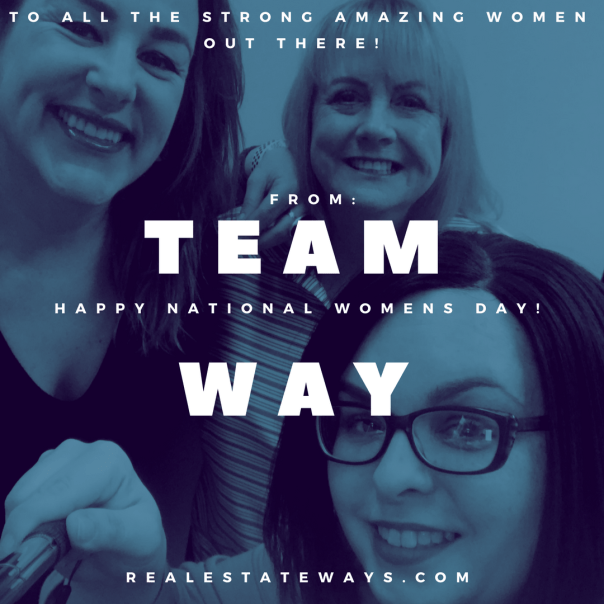 teamway Happy International Women's Day!