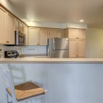 kitchen-counter LAURIE WAY ANNOUNCES | Queen Anne Condo with Rooftop Deck