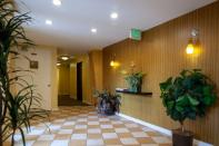 15-LOBBY LAURIE WAY ANNOUNCES | MID CENTURY MODERN CONDO FOR SALE | 330 W OLYMPIC PL #404
