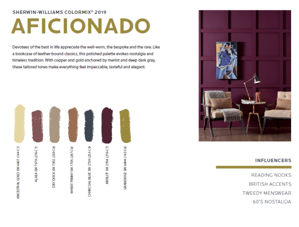 aficionado We've been talking about color...now vote for your favorite...