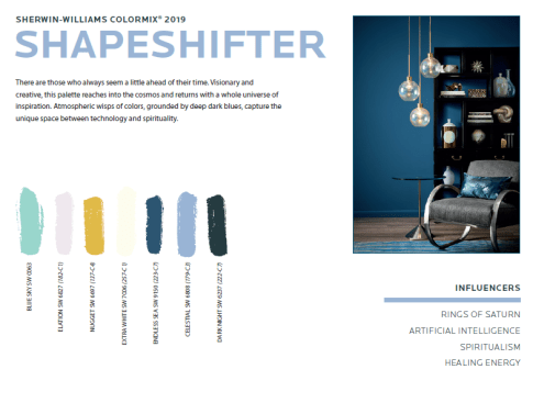 shapeshifter We've been talking about color...now vote for your favorite...
