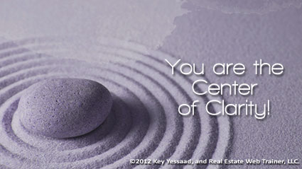You are the Center of Clarity!