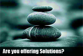 Are you offering solutions to your Real Estate Visitors