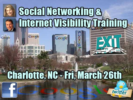 Charlotte Real Estate Social Media and Internet Visibility Training